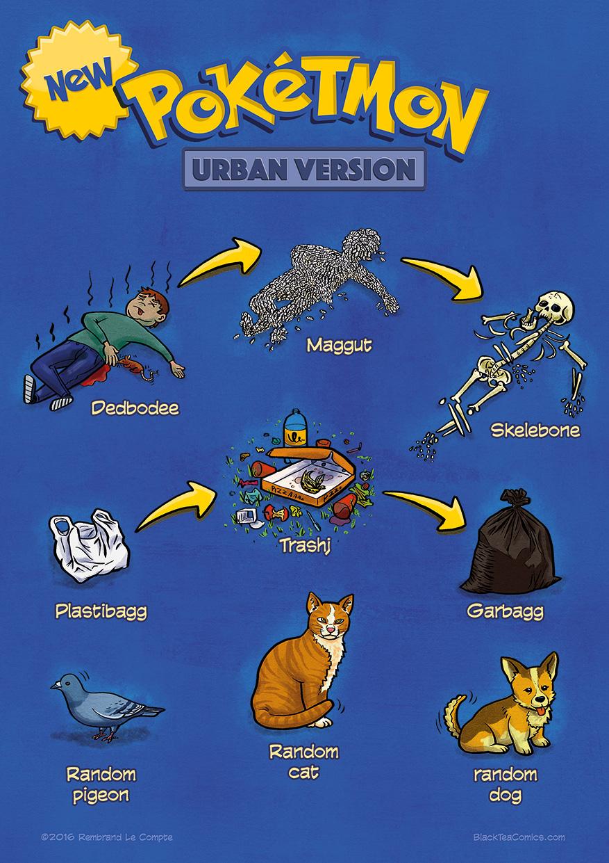 #23 - Urban Pokétmon
